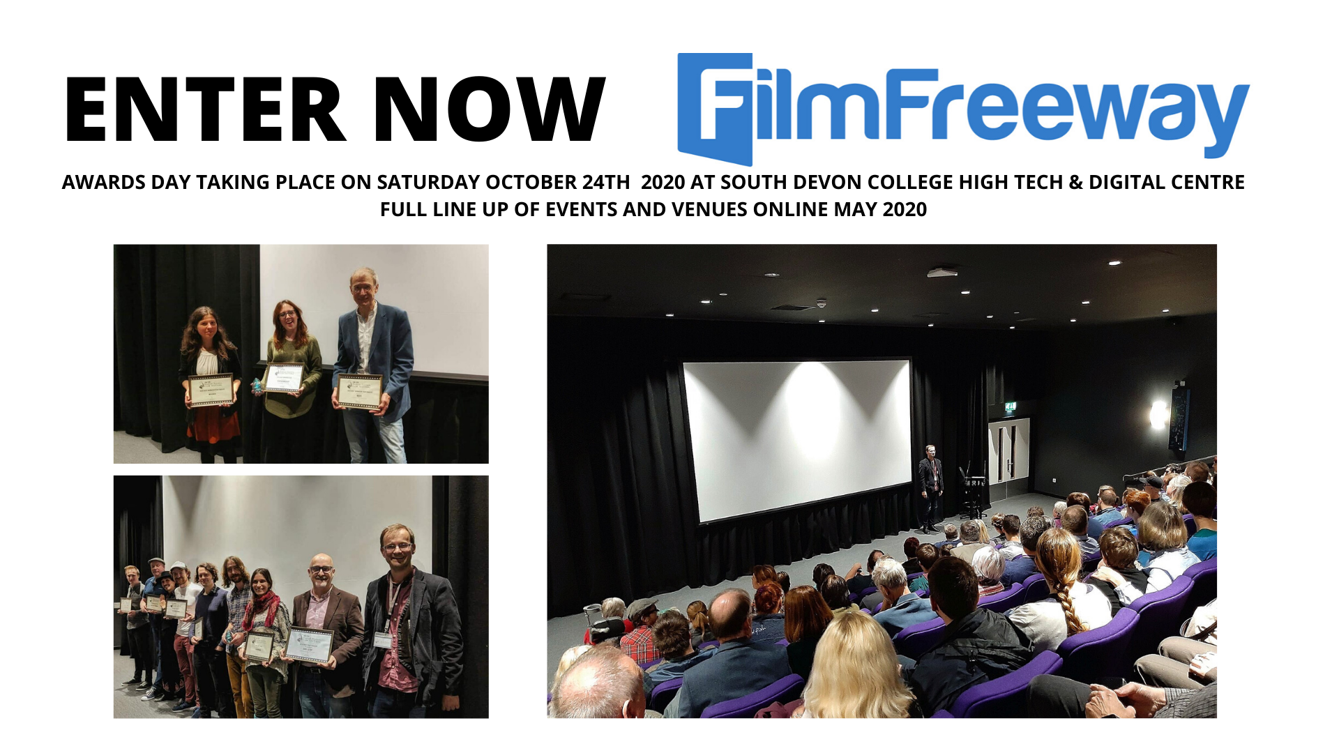 AWARDS DAY TAKING PLACE ON SATURDAY OCTOBER 24TH 2020 AT SOUTH DEVON COLLEGE HIGH TECH & DIGITAL CENTRE